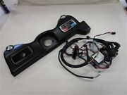 Tracker Nitro Z21 Dash Panel W / Gauges And Touchpad Remote Black Vinyl Boat