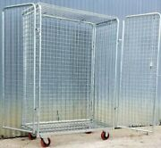 Mobile Standard Duty Wire Security Cabinet
