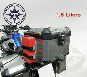 Removable Motorcycle Canister Holder. Adjustable For Different Types Of Canister