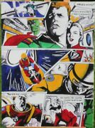 Dan Dare In Oil And Acrylic Painting On Canvas By Sarah Hood