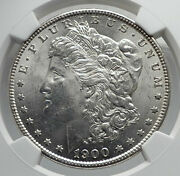1900 United States Of America Silver Morgan Us Dollar Coin Eagle Ngc Ms I79880