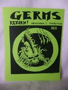 Concert Flyer Lot Of 5 Punk Hardcore Metal Reproduction Repo Poster Read Listing