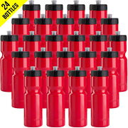 50 Strong Sports Squeeze Water Bottle Bulk Pack - 24 Bottles - 22 Oz. Bpa Free -