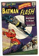 Brave And The Bold 66 1966-batman- The Flash Comic Book