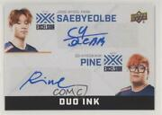 2019 Upper Deck Overwatch League Duo Ink Saebyeolbe Pine Di-pk Auto