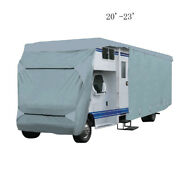 20'-23' Camper Travel Trailer Rv Motorhome Storage Cover 4-layer Class C Durable
