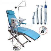 Portable Folding Dental Chair Unit / High And Low Speed Handpiece Kit