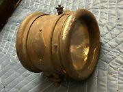 Vintage Early Western Motor Supply Headlight Car Old Truck Motorcycle Rare Brass