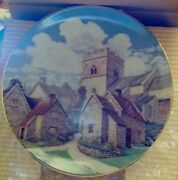 David Winter Cotswold Village Collector Plate 81/2 New In Box
