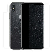 Front Back Diamond Glitter Soft Film For Iphone Xs Max Xr X Screen Protector Lot