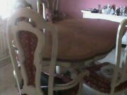 Italian French Provincial Turano And Sons Vintage Dining Room Set