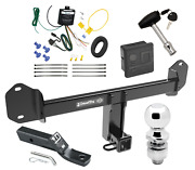 Trailer Tow Hitch For 11-20 Bmw X3 Deluxe Package W/ Wiring Kit And 2 Ball And Lock