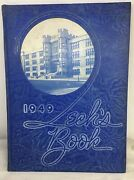 1949 Hume Fogg High School Yearbook Nashville Tennessee Techand039s Book