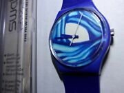 4 Original Art Painting By Alex Roman 1 Of A Kind Swatch Watch - Only One Rare