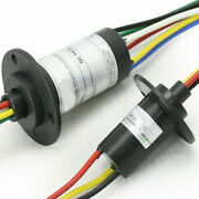 Circuits 250rpm Capsule Slip Ring 600v 3 Wires 15-40a For Monitor Robotic