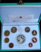 2013 Italy Vatican Rare Official Complete Set Euro Coins Unc Proof Benedetto Xvi