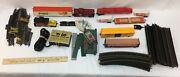 Tyco Ho Scale Model Train Cars Tracks Accessories Wiring Vintage Large Lot