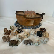 United Design Noahand039s Ark And Stone Critters Littles Animals