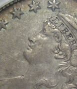 = 1832 Triple Profile Pcgs Au50 Bust Half Small Letters Free Shipping