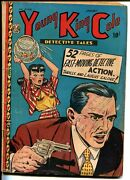 Young King Cole Vol. 3 6 1948-toni Gayle-fishbowl Weapon-detective Tales-vg