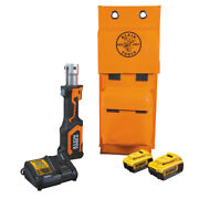 Klein Tools Bat207t134h Battery-operated Cutter/crimper No Heads 4 Ah