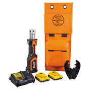 Klein Tools Bat207t23 Battery-operated Cable Crimper O+ Die Head 2 Ah