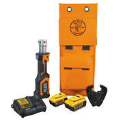 Klein Tools Bat207t24h Battery-operated Cable Crimper D3 Groove 4 Ah