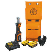 Klein Tools Bat207t34h Battery-operated Cable Cutter Cu/al 4 Ah