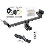 Trailer Tow Hitch For 16-18 Lincoln Mkx Complete Package W/ Wiring Kit And 2 Ball