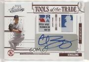2005 Playoff Absolute Memorabilia Tools Of The Trade /5 Curt Schilling Auto