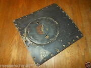 Ww Ii German Aircraft Fuel Access Panel And Hatch - Ar196 Floatplane - Rare