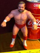 Action Figure Arn Anderson Wcw Galoob Official Wrestling Vintage Official Red