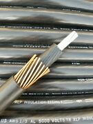 2000and039 Ft 1/0 Awg Gauge Southwire Mv-90 5 Kv 8 Kv Power Wire Concentric Shielded