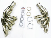 Maximizer Header For Chevy Big Block Up And Forward Turbo W/ V-band Flange