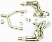 Maximizer S/s Header With Y-pipe For 1985 To 1991 Chevy Corvette C4 5.7l
