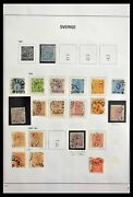 Lot 28879 Collection Stamps Of Sweden 1855-1997.