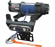 Polaris® Pro Hd 4,500 Lb. Winch With Rapid Rope Recovery - Rzr 2882240