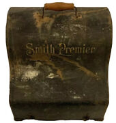 Collectible 1904 Smith Premier No. 2 Typewriter And Protective Metal Carry Case