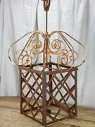 Very Large French Candle Lantern - 1950and039s