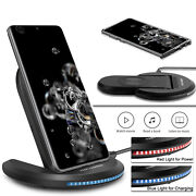 For Samsung Galaxy S21/note 20 Ultra/10+/s20 Fe Casewireless Fast Charger Stand