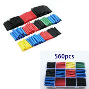 Car Electrical Wire Terminals Heat Shrink Tubing Tube Sleeving Assortments Kit