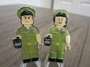 Lot Of 2 Us Navy Chief Male And Female Khaki Uniform Cpo Mess Challenge Coin