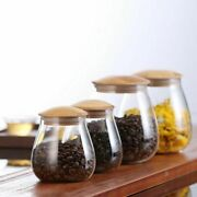 Eco-friendly Food Sugar Storage Bottles And Jars Glass Container Condiments Tank