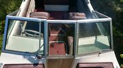 Complete Windshield Only From 1975 Cobalt Open Bow Tri Hull 17and039 Boat Parting Out