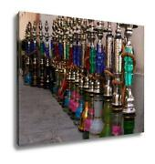 Gallery Wrapped Canvas Hookahs Water Pipes In Souk Wakif In Doha Qatar