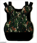 Digital Camo Body Armor Tactical Paintball /airsoft Chest Protector Acu Styled