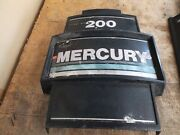 Mercury 200 Hp Outboard Front Cover Face Plate Old Style -used