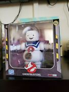 Sdcc 2019 Loyal Subjects Ghostbusters Burnt Stay Puft Man Exclusive In Hand