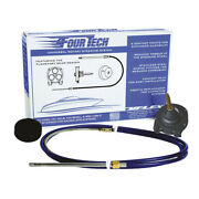 Uflex Usa Fourtech14 Fourtech 14and039 Mach Rotary Steering System Helm Bezel And