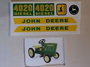 Decal Set 4020 Wide Front John Deere Toy Pedal Tractor Jp112